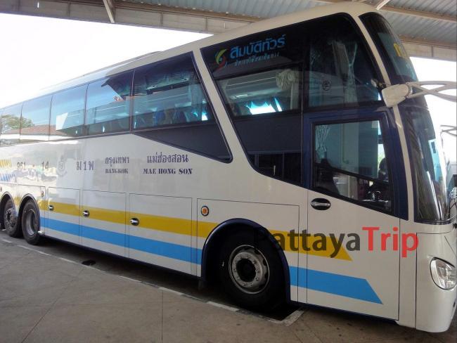 Автобус Бангкок - Мэхонгсон