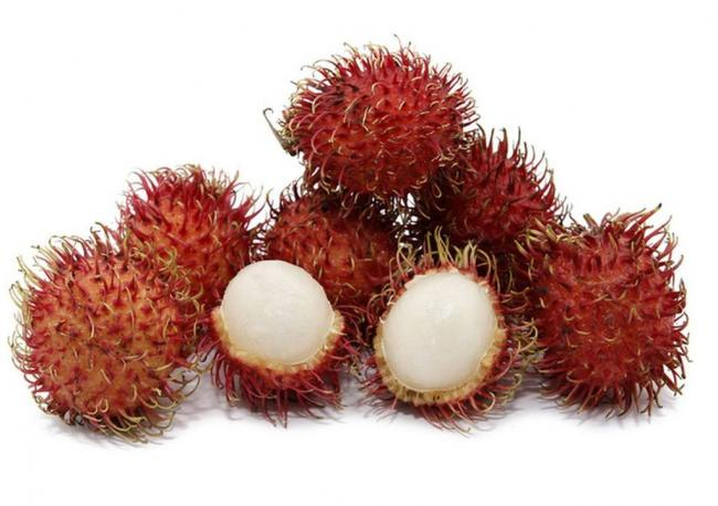 Рамбутан - самый волосатый фрукт Тайланда