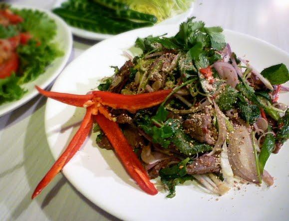 Cалат из говядины - Ну Янг Нам Ток