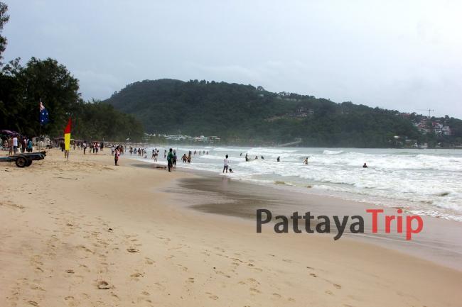Пхукет - фото пляжа Патонг в не сезон (июнь месяц)