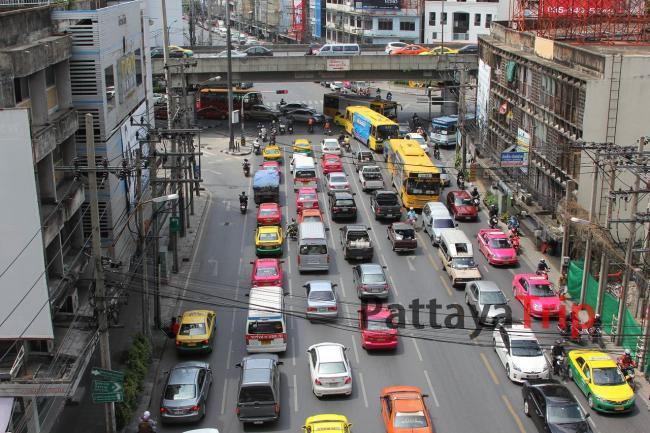 Тайланд - фото транспорта в Бангкоке
