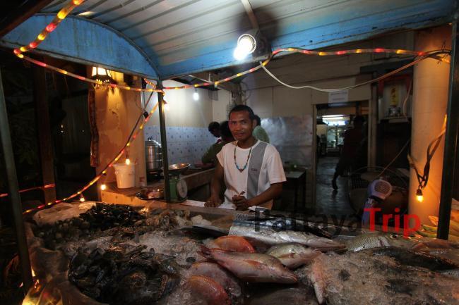 Тайланд - фото рыбного ресторана на острове Ланта