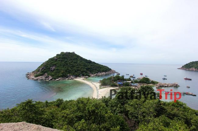 Смотровая площадка на острове Нанг Юань