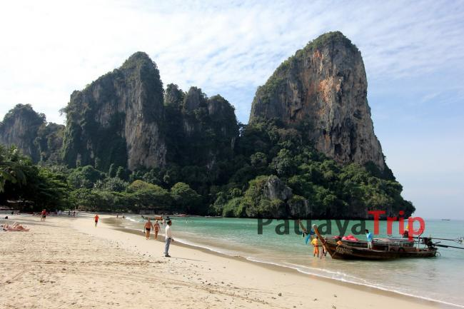 Тайланд - фото пляжа Railay West