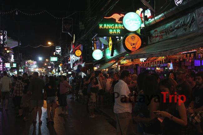 Тайланд - фото Бангла Роуд на Пхукете
