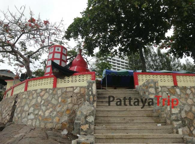 Китайский Храм на холме Каменная голова в Хуа Хин (Таиланд)