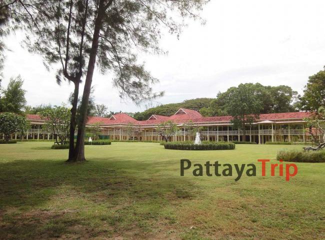 Королевский дворец Maruekkhathayawan в Хуа Хин