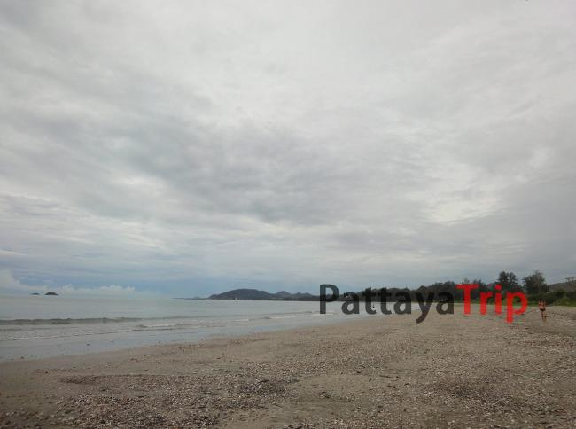 Пляж Khao Takiab южнее Хуа Хин