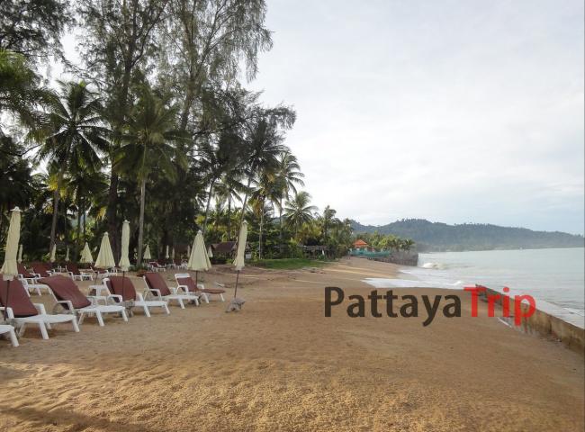 Пляж Bang Niang в Као Лак