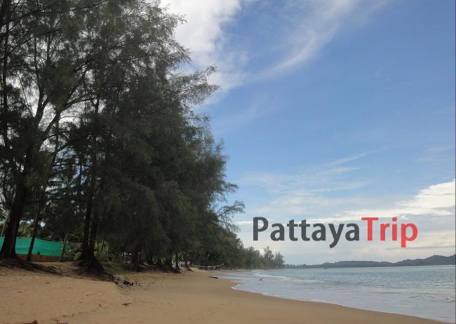 Центральный пляж Као Лака