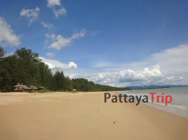 Остров Kho Khao рядом с Као Лак