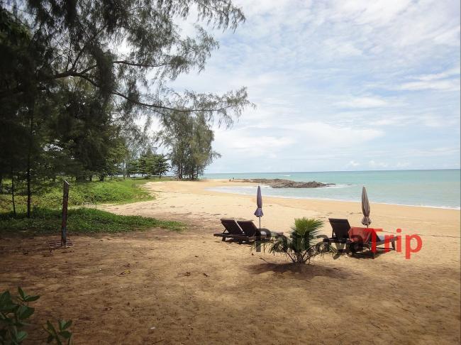 Пляж Nang Thong в Као Лаке