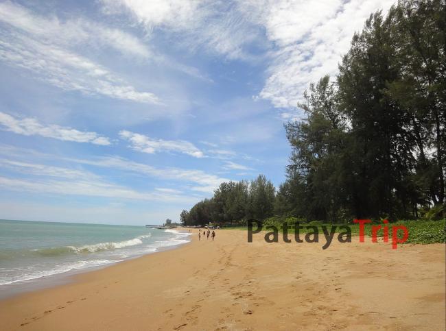 Nang Thong - пляж в Као Лак