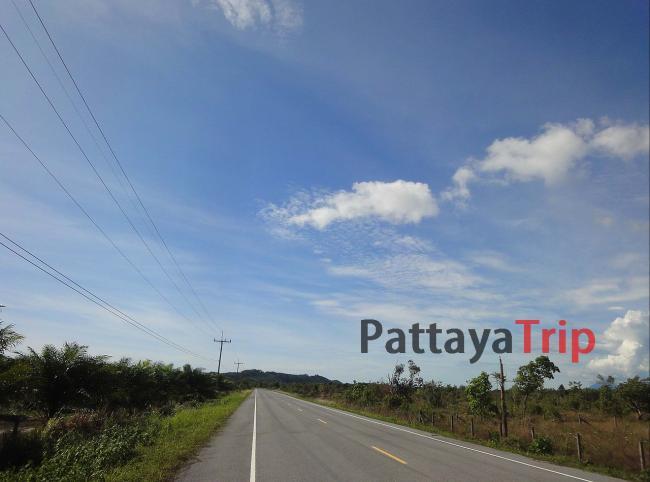 Отличные дороги на Koh Kho Khao