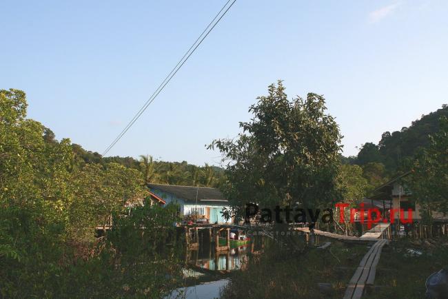Ao Salad - поселение на севере Ко Куд
