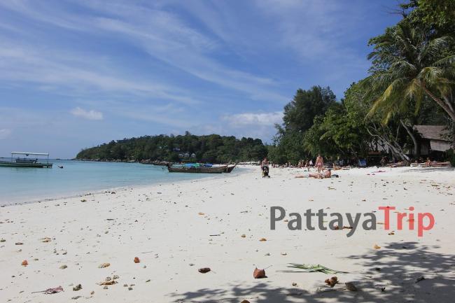 Пляж Pattaya на Ко Липе (Таиланд)