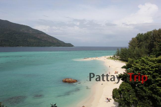 Тайланд - фотография с обзорной точки на Ко Липе