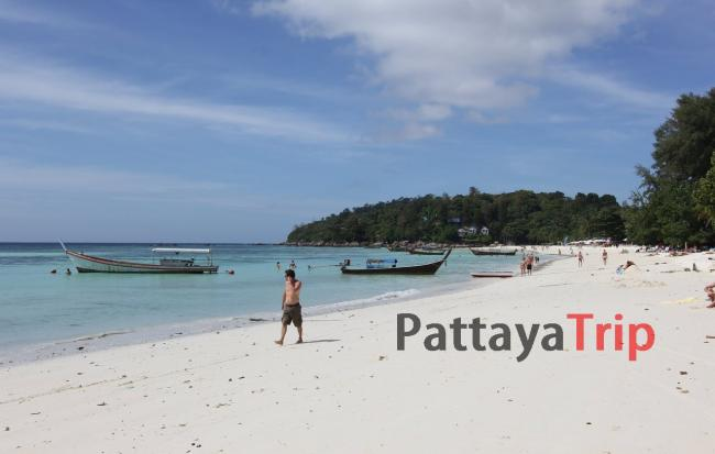 Pattaya Beach - пляж на Ко Липе (Тайланд)