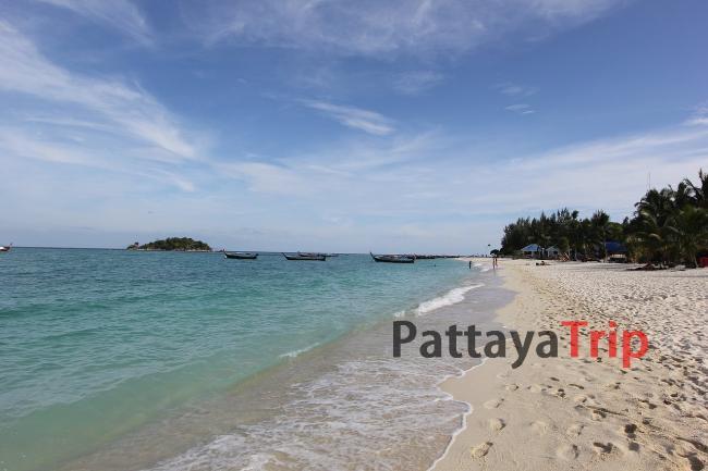 Северная часть пляжа Санрайз на Ко Липе
