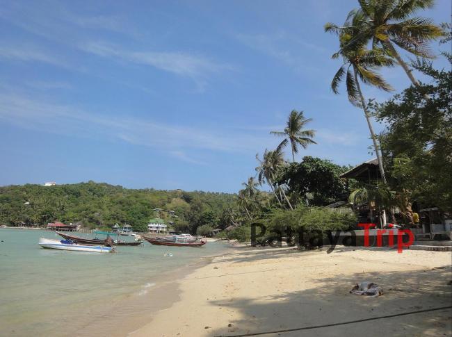Chalok Baan Kao - пляж на Ко Тао