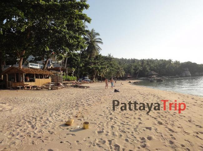 Mae Haad - пляж на Ко Тао