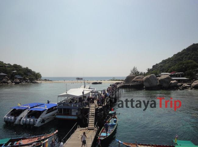 Пляж на острове Nangyuan рядом с Ко Тао
