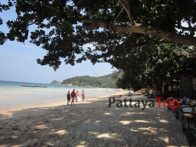 Sairee - самый популярный пляж на Ко Тао