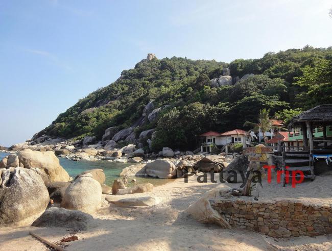 Tanote - пляж на Ко Тао