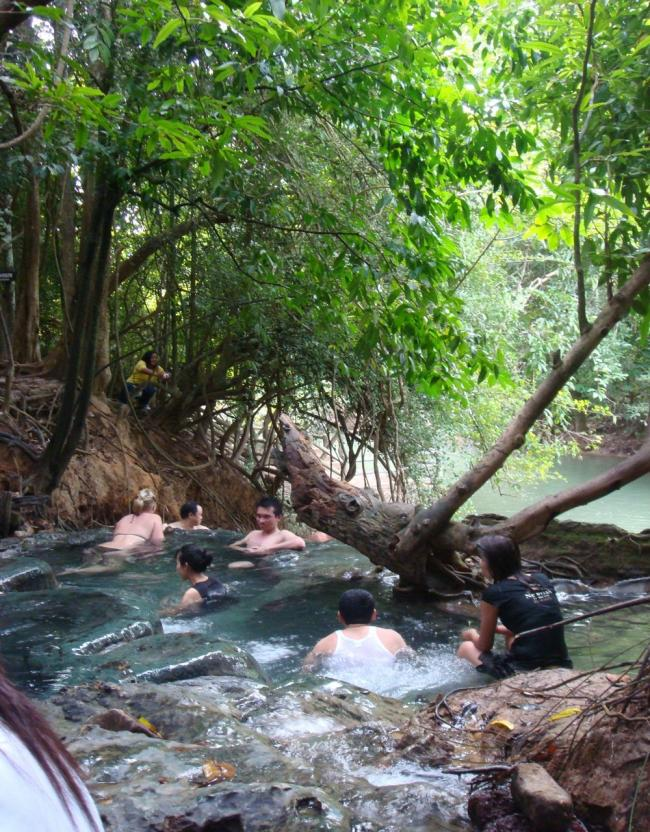 Горячие источники Klong Thom hot springs