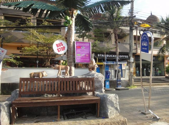 Остановка Сонгтео в Краби
