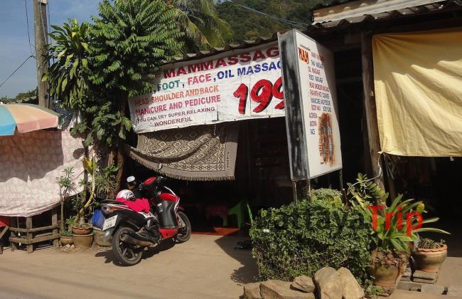 Массажный салон на Ко Чанг