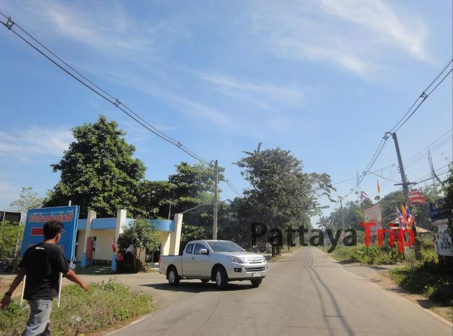 Дорога на восточном побережье Ко Чанг