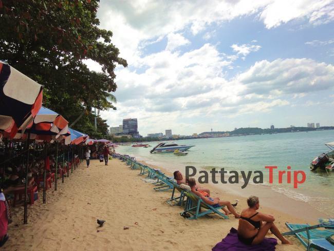 Центральный пляж Паттайи - Pattaya Beach