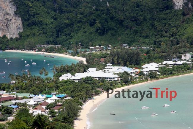 Смотровая площадка на острове Пхи Пхи