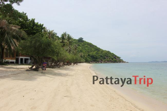Пляж на Пангане