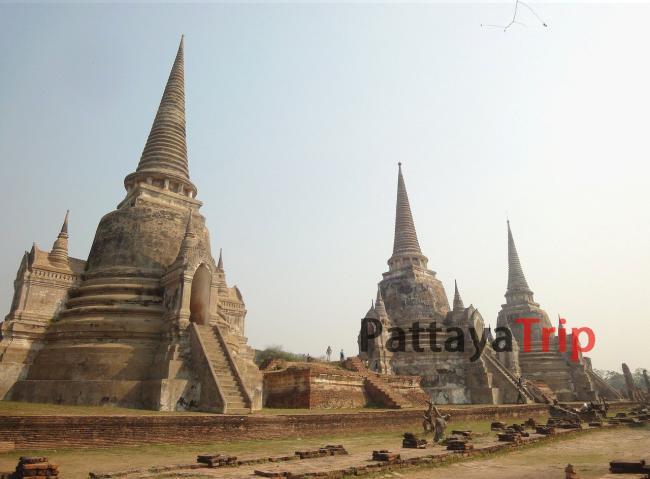 Wat Phra Si Sanphet в Аюттайе