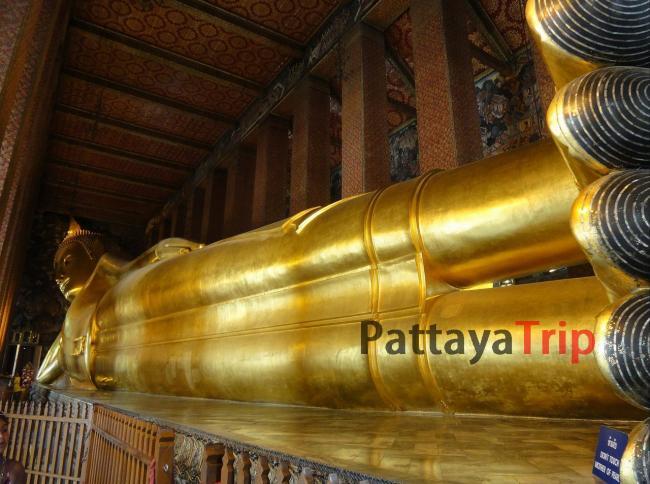 Ват По - Храм Лежащего Будды в Бангкоке