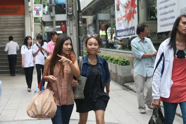 Тайские девушки в Бангкоке