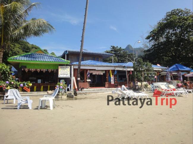 Бар на пляже Ко Чанга