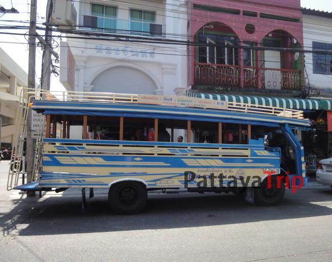 Городской автобус на Пхукете