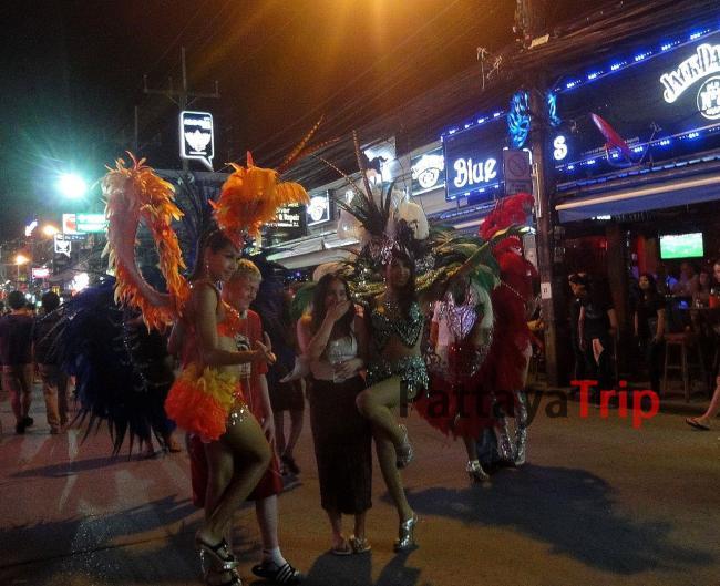 Трансвеститы на Бангла Роуд (Патонг) на Пхукете