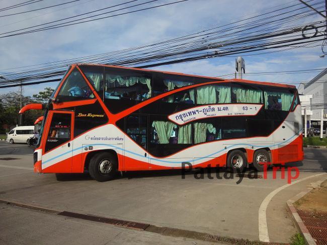 Двухэтажный автобус Бангкок - Пхукет