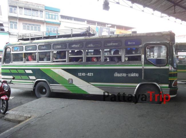 Автобус с вентилятором