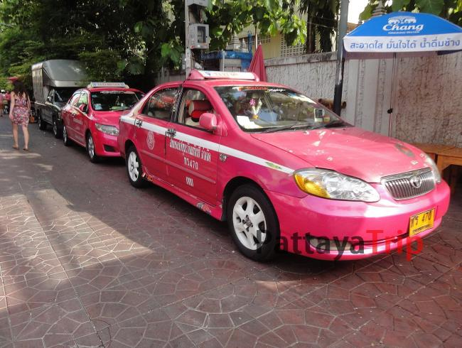 Такси со счетчиком в Бангкоке