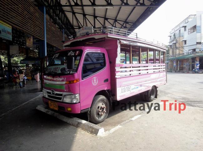 Автобус к автовокзалам на Пхукете