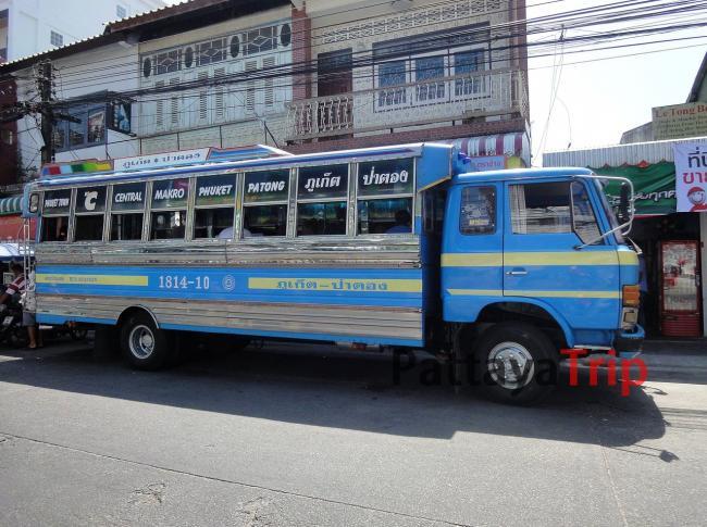 Автобус к пляжам на Пхукете