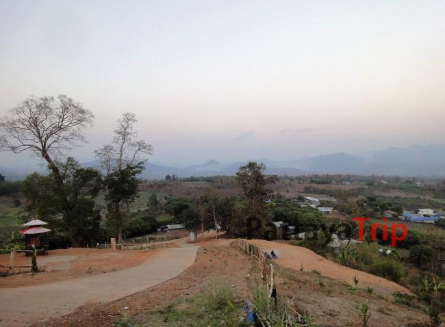 Смотровая площадка в китайской деревне