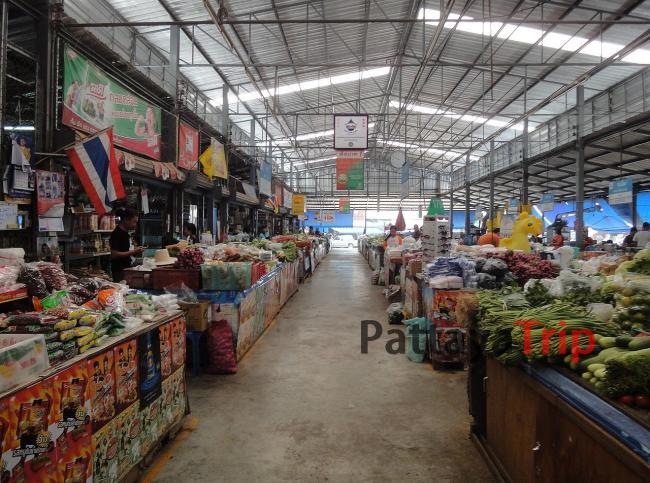 Продовольственный рынок в Пае