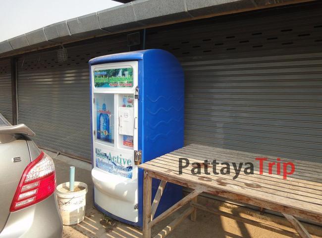 Автомат с фильтрованной водой