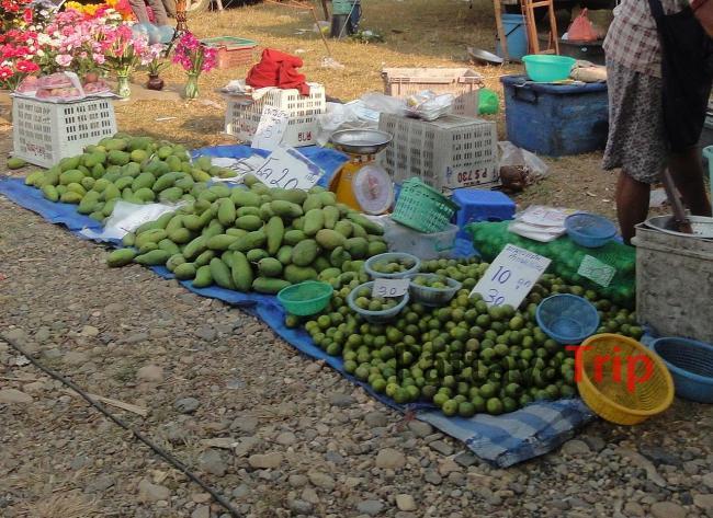 Цены на апельсины и зеленый манго